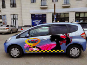 Lady Taxi ქუთაისში  - მძღოლები მხოლოდ ქალები არიან
