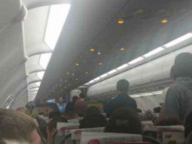 """,,პეგასუსის"""" თვითმფრინავში მამაკაცი გარდაიცვალა - ,,აფრენამ დააგვიანა, სუნთქვა ჭირდა"""" - ვიდეო"""