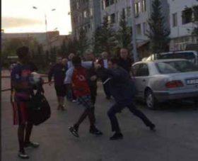 თბილისში ფერადკანიანი სტუდენტები ხელკეტებით სცემეს