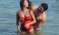 თოშა ქებურია ორსულ ცოლთან ერთად იტალიაში ისვენებს