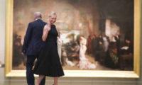 ელეგანტური მაკა ჩიჩუა პარიზში – მარგველაშვილი მეუღლესთან ერთად პირველი მსოფლიო ომის დასრულების 100 წლისთავისადმი მიძღვნილ ღონისძიებას დაესწრო