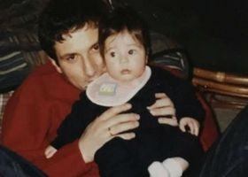"""ნიკა რურუას ქალიშვილი: ,,ყოველთვის ჩემს გულში იქნები, მამა"""""""