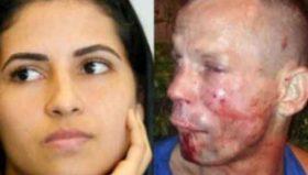 ქალმა თავდამსხმელი მამაკაცი უმოწყალოდ ცემა