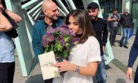 """გიორგი გაბუნია: """"როგორც იქნა!"""" – მისი ძმა დათა ნია ტყეშელაშვილზე დაქორწინდა"""