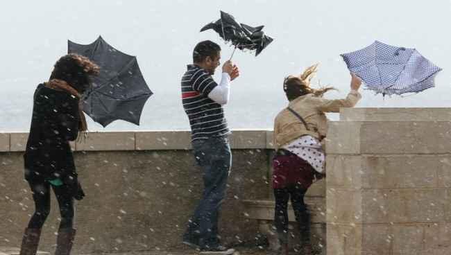 წვიმა, თოვა, ქარბუქი - საქართველოში ამინდი გაუარესდება