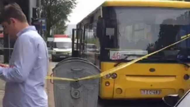 ბელიაშვილზე ავტობუსის მძღოლი დაჭრეს