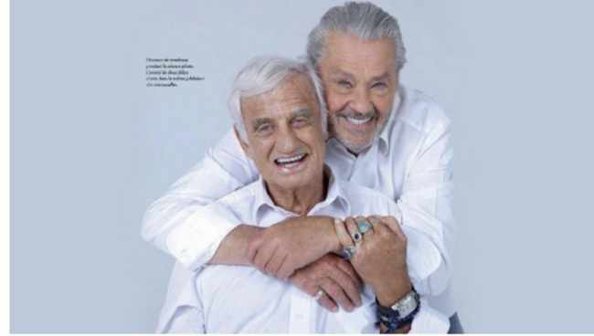 86 წლის ბელმონდო და 83 წლის ალენ დელონი - მათ ყველა ჭორი გააქარწყლეს