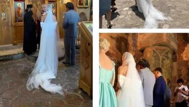 კახი კალაძემ და ანუკი არეშიძემ ჯვარი დაიწერეს, 4 შვილის დედა ულამაზესი პატარძალი იყო - ფოტოები