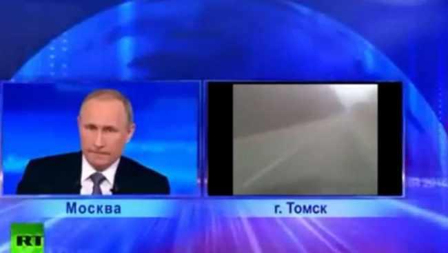 """,,შენს ქვეყანას მიხედე, ვოვა, შე ბ@ო"""" - როგორ უსმენს პუტინი რუსეთის მოქალაქის გინებას - ვიდეო"""