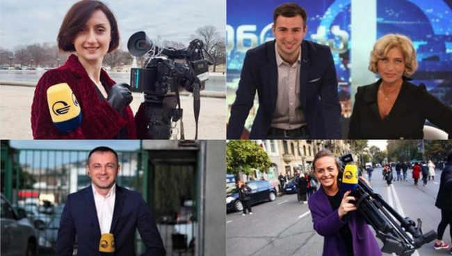 """,,იმედის"""" ჟურნალისტების პროტესტი - ,,ჩვენთვის მიუღებელია რუსეთის ჯარის იძულებით შემოჭრის ეს ვერსია!"""""""