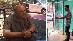 ლევან ბერძენიშვილს მაღაზიაში არ მოემსახურენ - ვიდეო