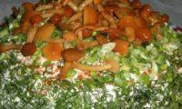 სოკოს სამარხვო სალათი