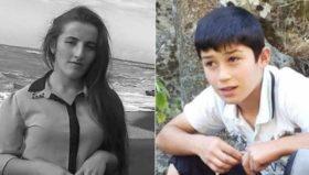 ურეკში დაღუპულები 14 წლის ირაკლი ვანაძე და მისი ბიცოლა ლეილა ბერიძე არიან