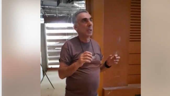 """რამაზ იოსელიანი: ,,ეს უნამუსო ხალხი! გვიშველეთ, ვინც ნორმალური ხართ"""" - ვიდეო"""