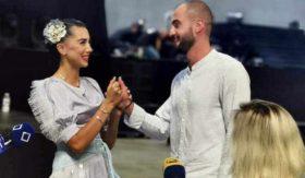 შორენა ჯაფარიძეს ნიკა მნათობიშვილმა ჩხიკვთა ქორწილის სცენაზე სთხოვა ხელი