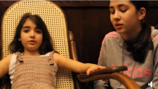 დები ლეკვეიშვილების საოცარი სიმღერა - ვიდეო