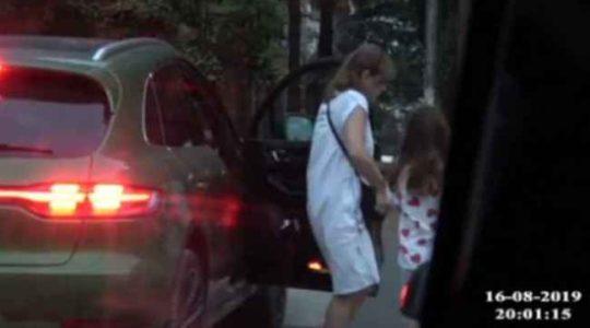 ნიკა გვარამიას ცოლ-შვილს ფარულად უთვალთვალებენ – სკანდალური ვიდეო