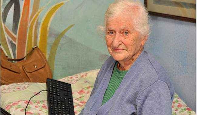 """89 წლის ლამარა აბჟანდაძემ კომპიუტერი 2 საათში აითვისა - """"ყველაფერი, რაც არ მავიწყდება"""""""
