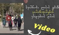 """სეირნობა ლისის ტბაზე – როგორ ესმის ზოგს: ,,დარჩი სახლში"""" – ვიდეო"""
