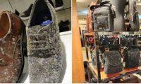 მაღაზიებში ჩანთები და ფეხსაცმელები დაობდა