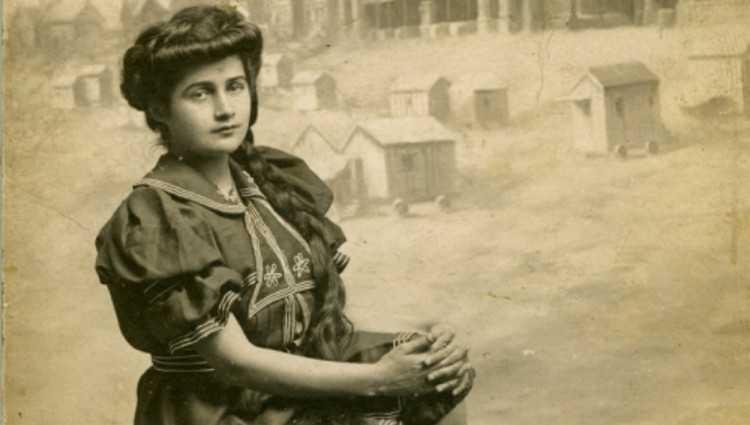 კასპელი ეკატერინე თარხნიშვილი 1905 წელს პარიზში მის ევროპა გახდა