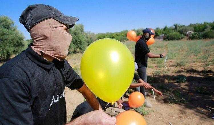 ისრაელს ბუშტებით უტევენ, მათი მიზანი ხანძრების წარმოქმნაა