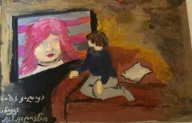 """ნანუკა ჟორჟოლიანი: """"საბამ დამხატა"""""""